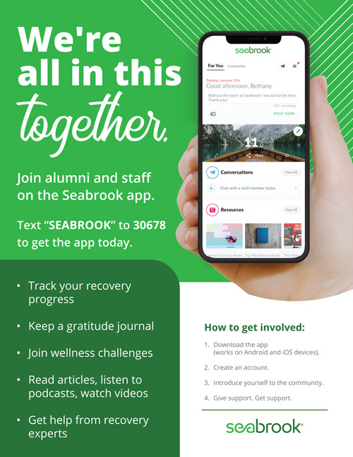 CaredFor App Flyer for Seabrook